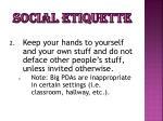 social etiquette1