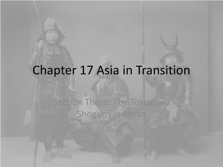 chapter 17 asia in transition n.