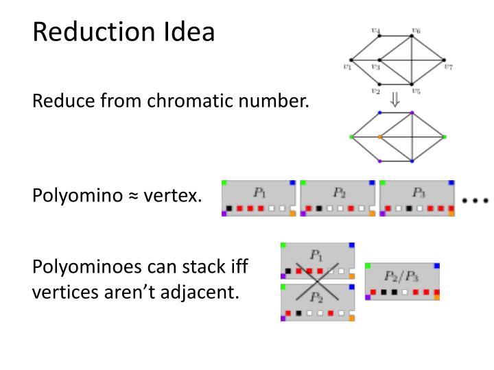 Reduction Idea