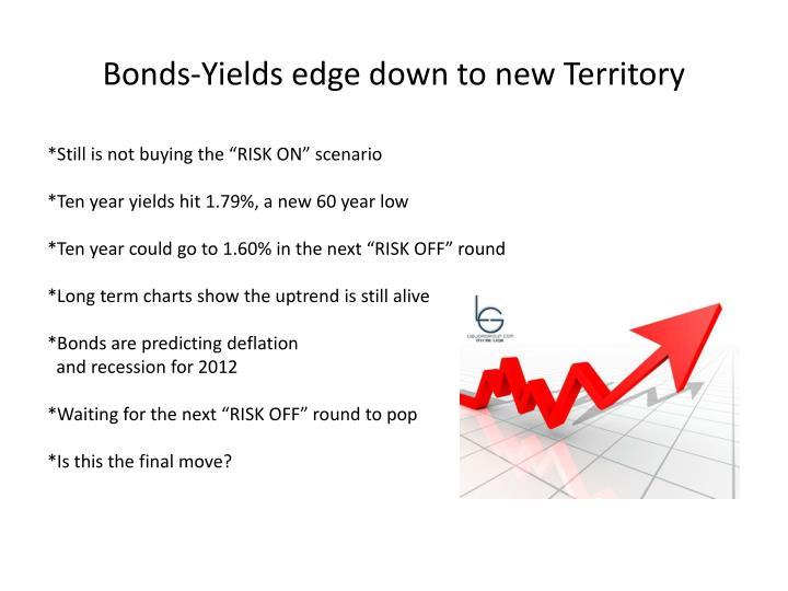 Bonds-Yields edge down to new Territory