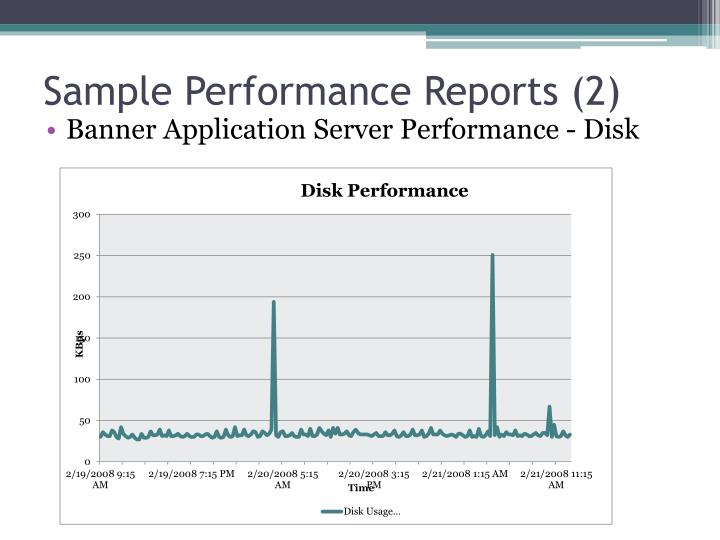 Sample Performance Reports (2)