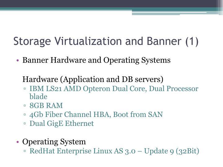 Storage Virtualization and Banner (1)