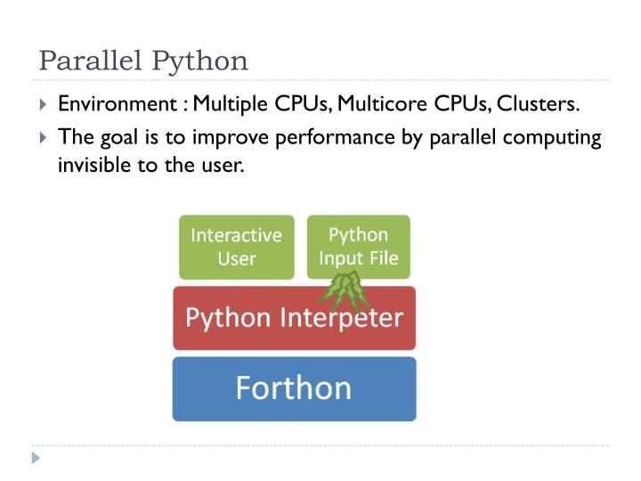 Parallel Python