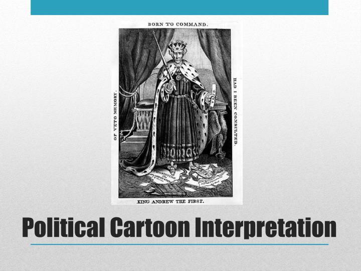 Political Cartoon Interpretation