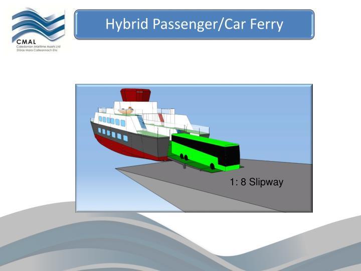 Hybrid Passenger/Car Ferry