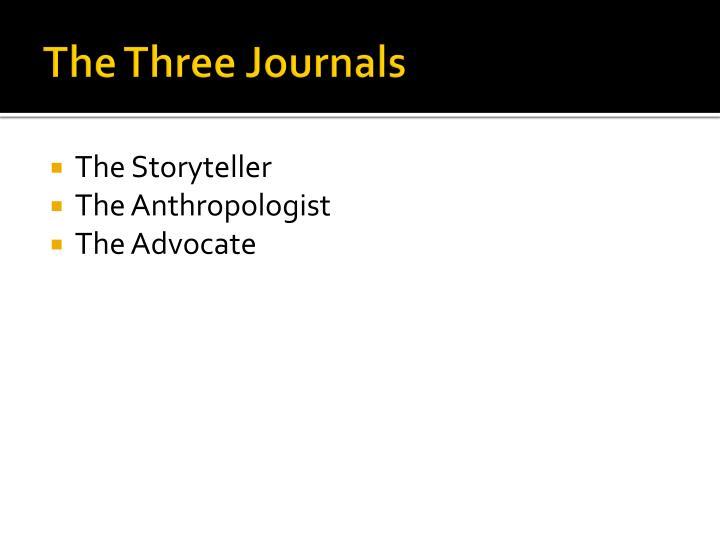 The Three Journals