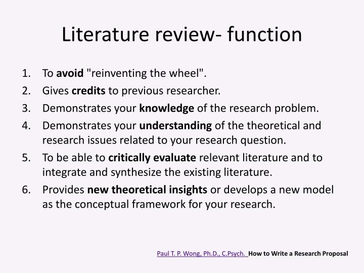 Proposal and dissertation help videos
