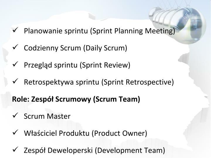 Planowanie sprintu (Sprint