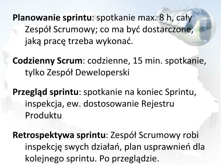 Planowanie sprintu