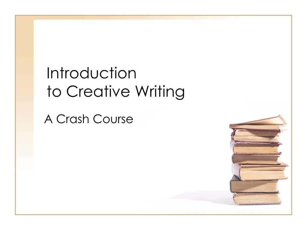 creative writing ppt
