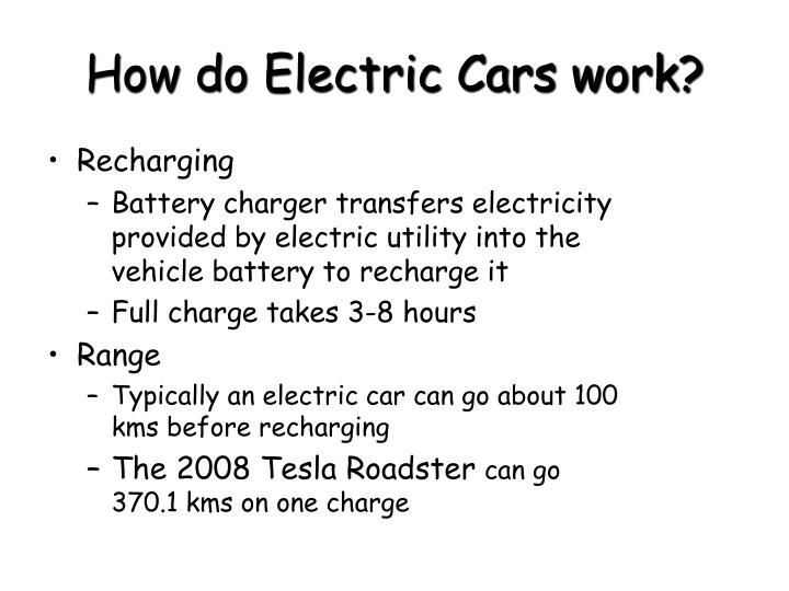 PPT - How Electric Cars Work PowerPoint Presentation - ID:2535367