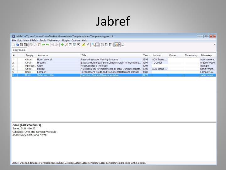 Jabref