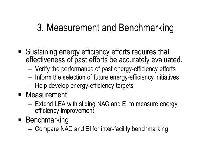 3. Measurement and Benchmarking