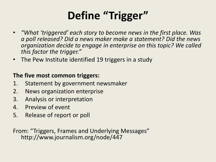 PPT - Framing (part 2) Ideological frames vs. Passive Frames vs ...