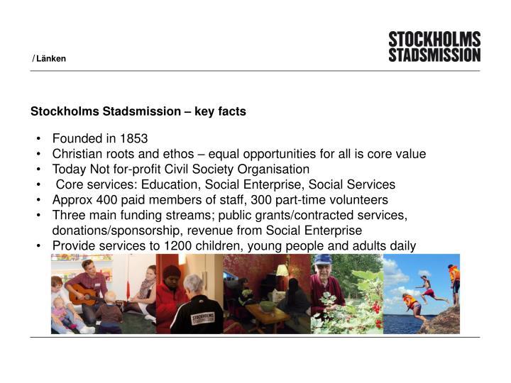 Stockholms stadsmission key facts