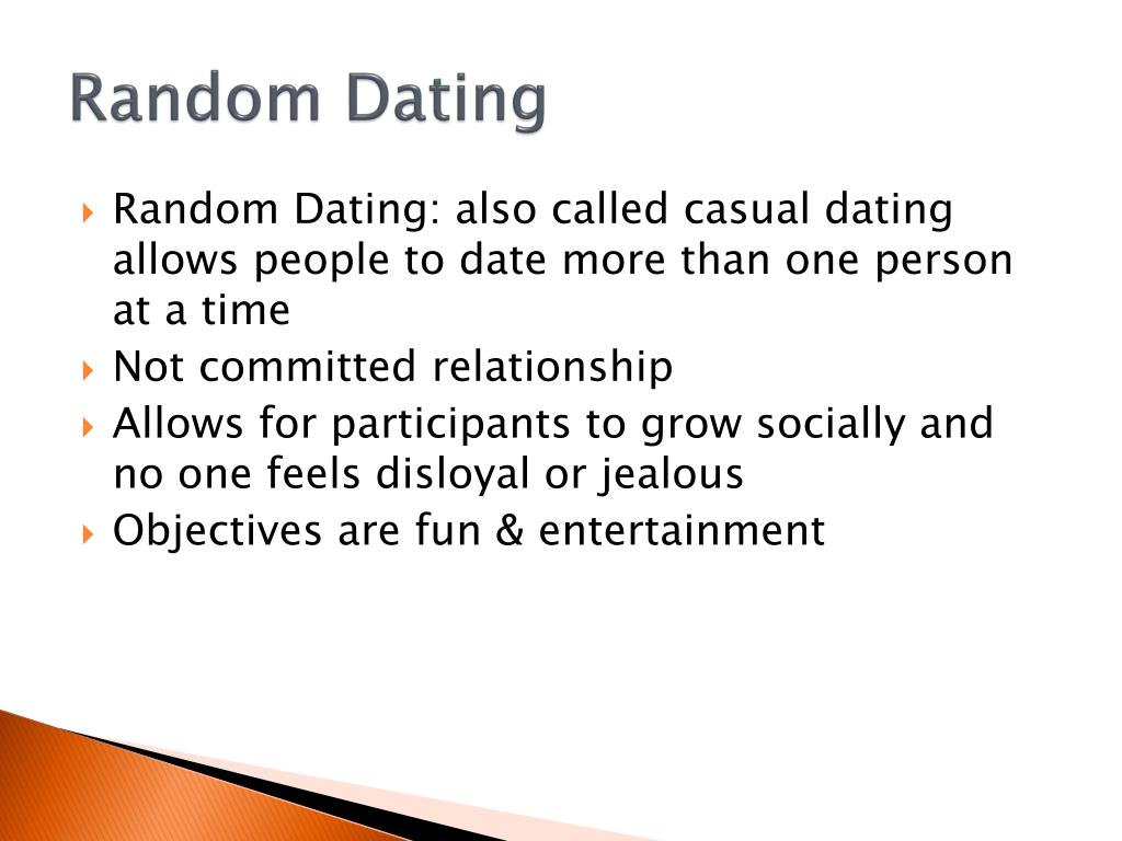 casually dating more than one person