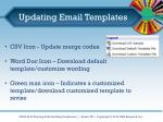updating email templates