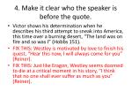 4 make it clear who the speaker is before the quote