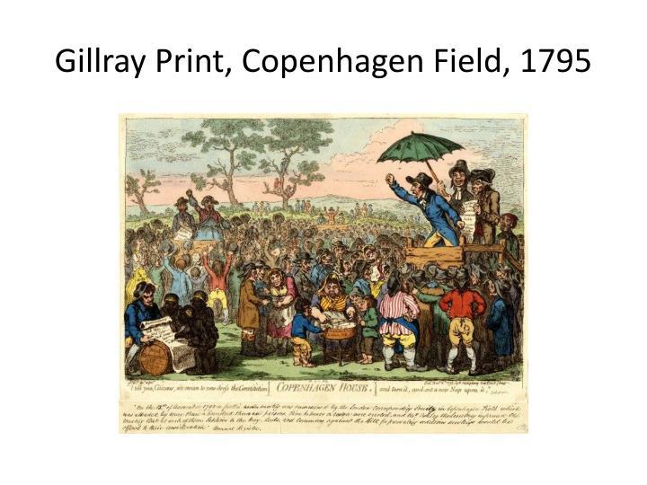 Gillray print copenhagen field 1795
