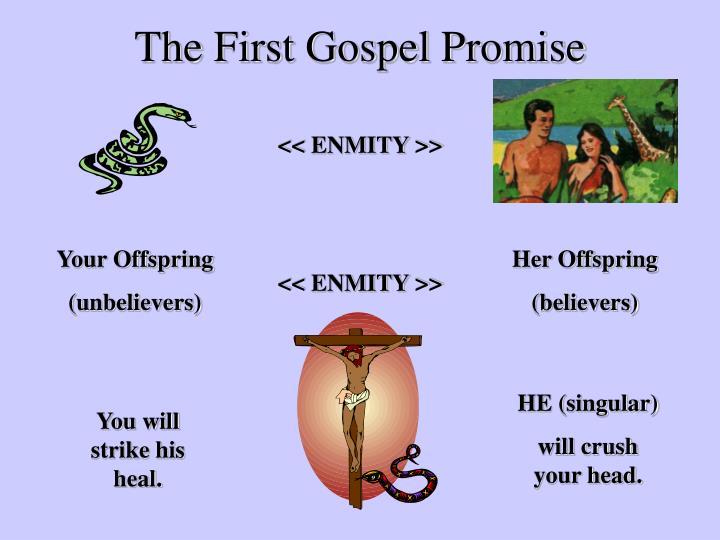 The First Gospel Promise