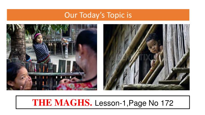 Our Today's Topic is