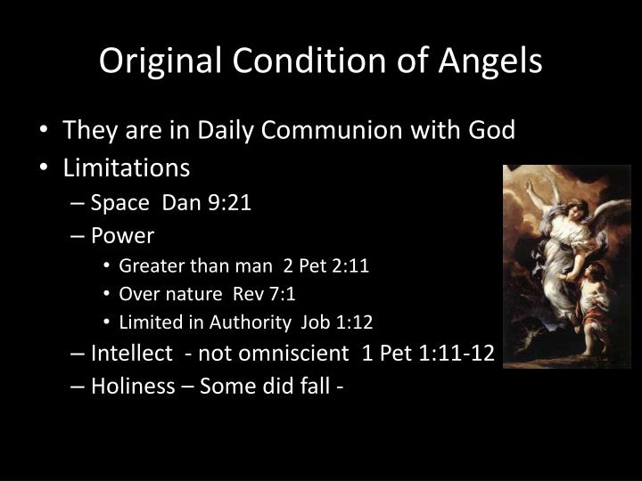 Original Condition of Angels
