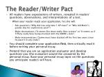 the reader writer pact
