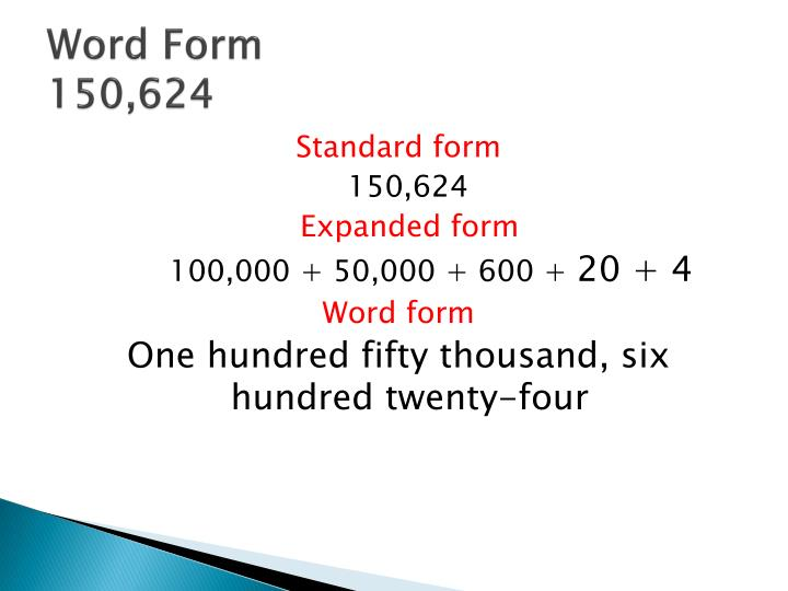 Ppt Place Value Through Hundred Thousands 12 Powerpoint