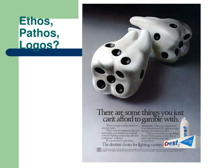 Advertising examples of ethos pathos logos