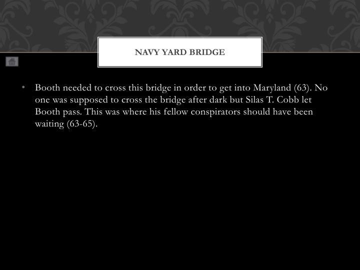 Navy Yard Bridge