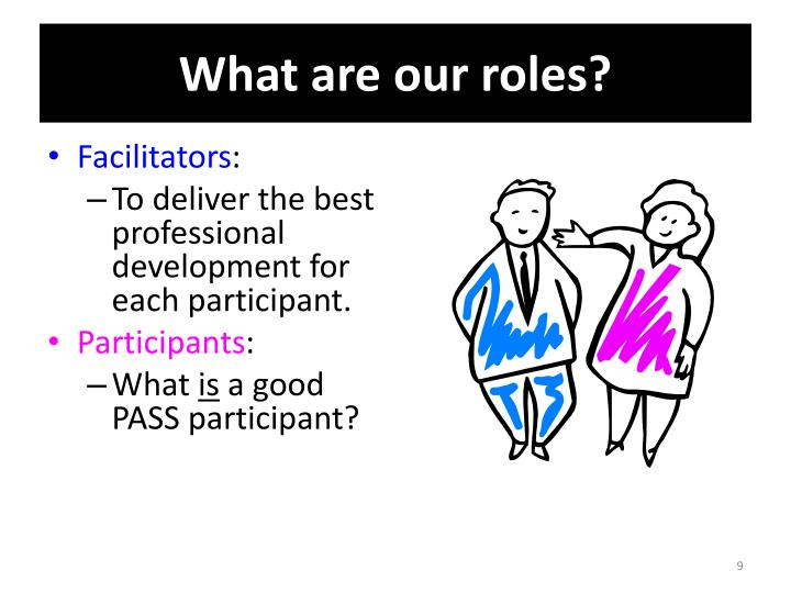 What are our roles?