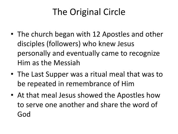 The original circle
