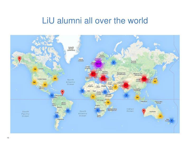 LiU alumni all over the world
