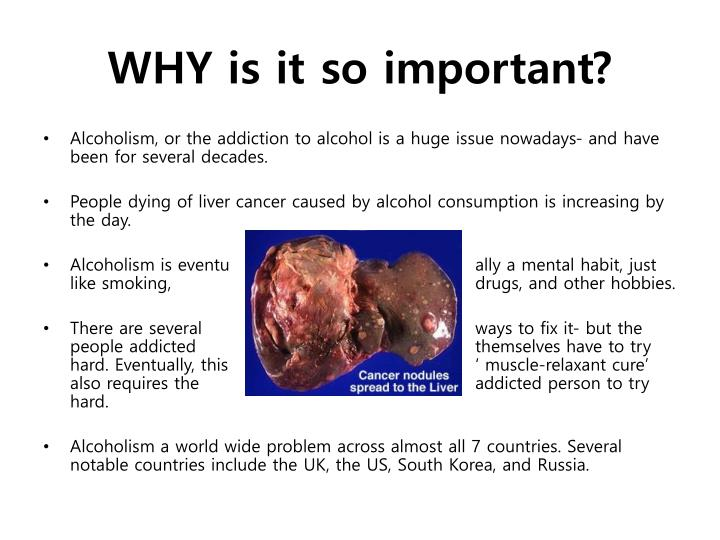 WHY is it so important?