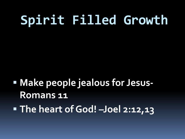 Spirit Filled Growth