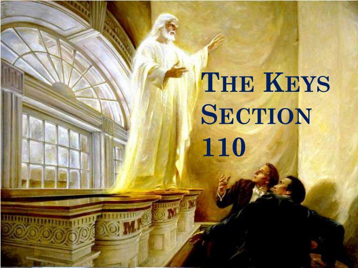 the keys section 110 n.