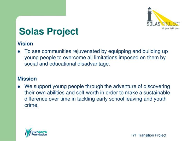Solas project