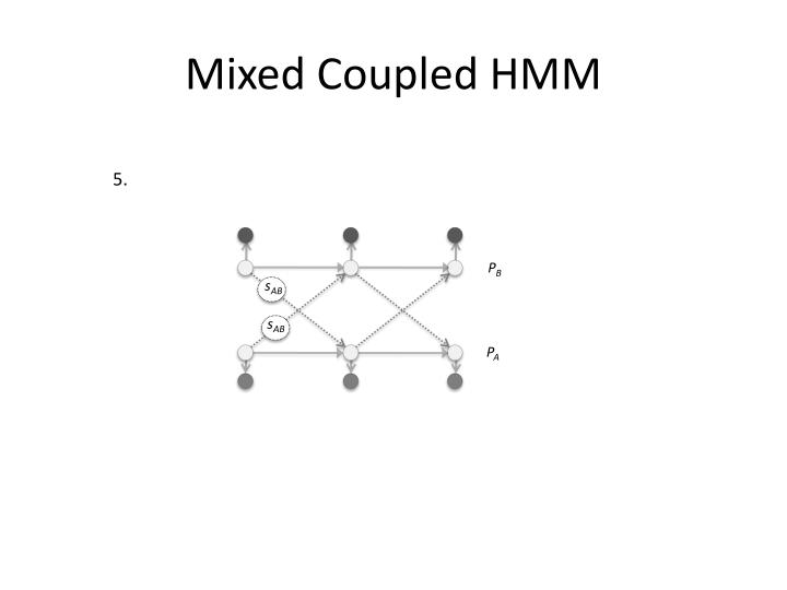 Mixed Coupled HMM