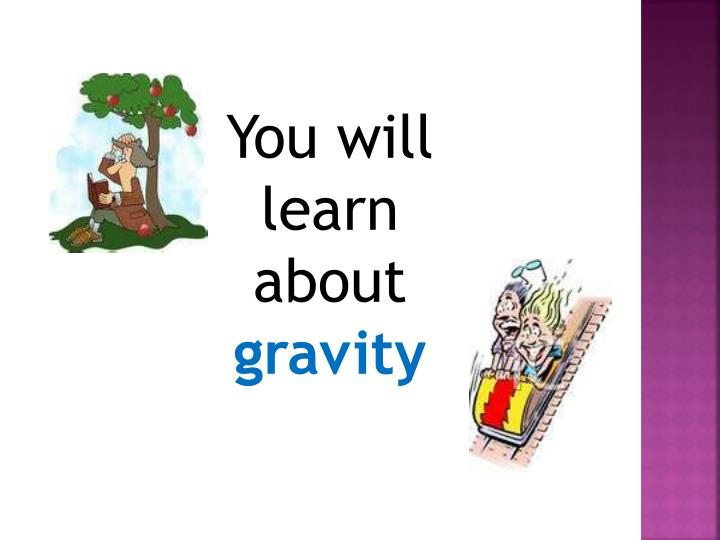 You will learn about