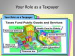 your role as a taxpayer2