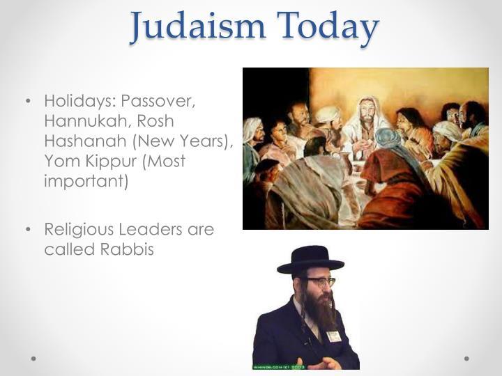 Judaism Today