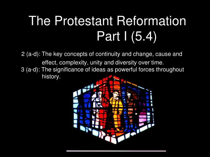 protestant reformation causes and effects Cause and effects of protestant reformation essay 754 words | 4 pages major causes and effects of the protestant reformation there were several causes of the protestant reformation that effected society, politics, and religion in europe during the 16th century.