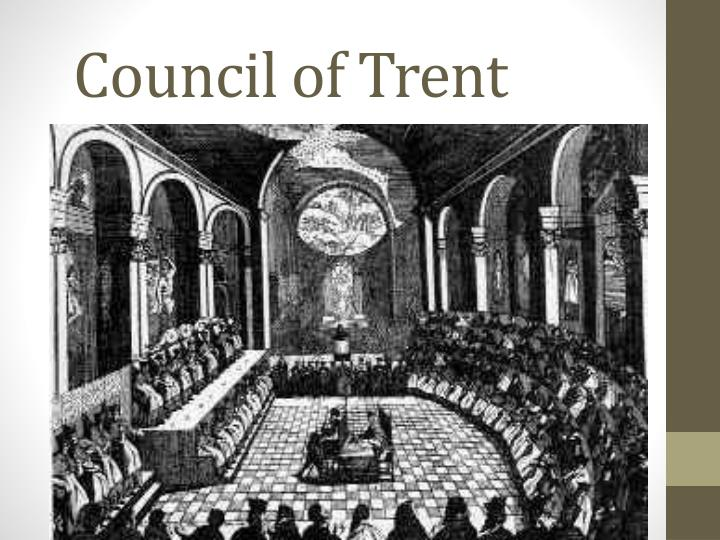 council of trent compare and contrast