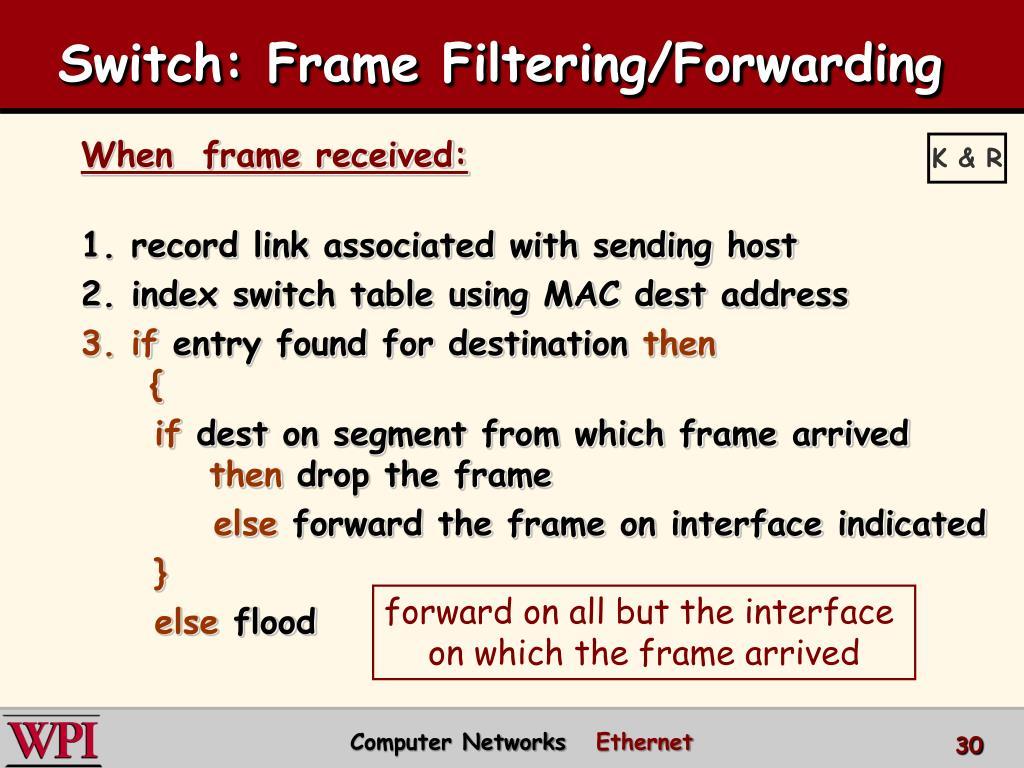 PPT - Ethernet PowerPoint Presentation - ID:2556657