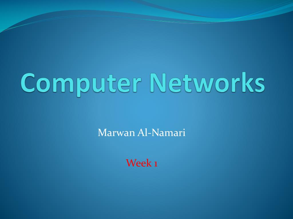PPT - Computer Networks PowerPoint Presentation - ID:2556773