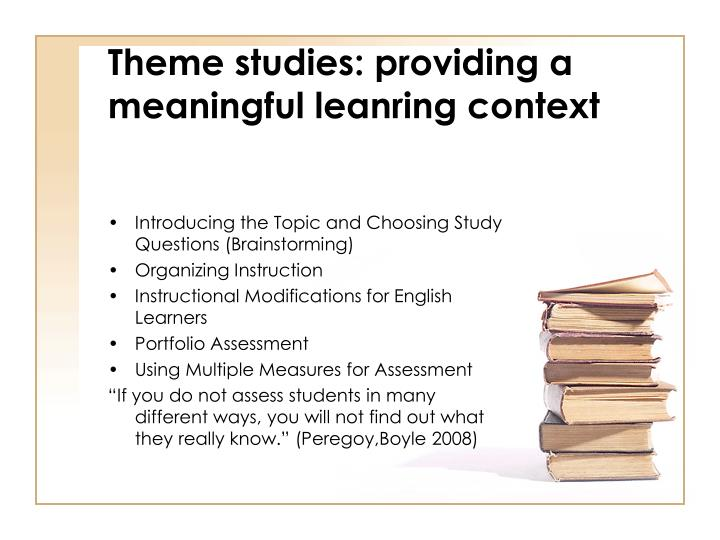providing context in an essay Including context means providing the reader with the situation, a background picture of where the piece of information came from and what or who is involved  how to focus your essay and .