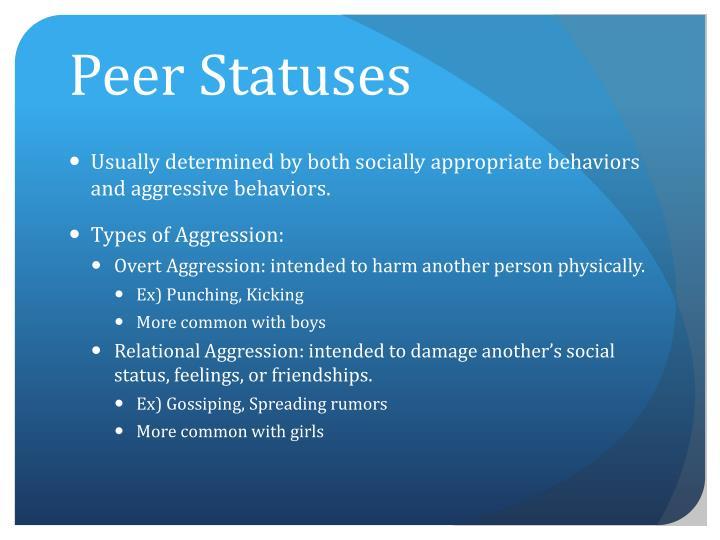 Peer Statuses