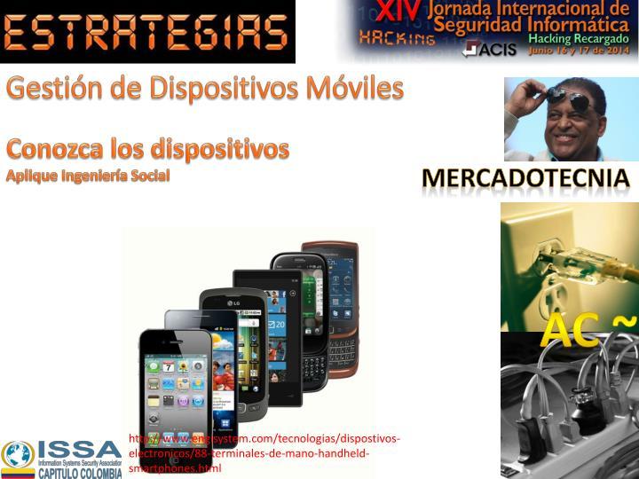 Gestión de Dispositivos Móviles