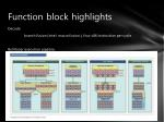 function block highlights1