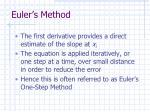 euler s method